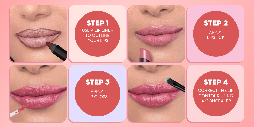 Easy Steps To Contour Your Lips