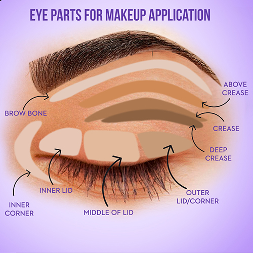How to apply eyeshadow like a pro 01