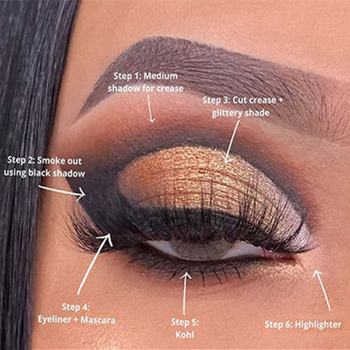 How to apply eyeshadow like a pro 03