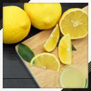 DIY lemon lip scrub for smooth lips