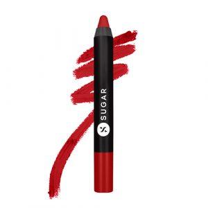 SUGAR Matte As Hell Crayon Lipstick 01 Scarlett O'Hara