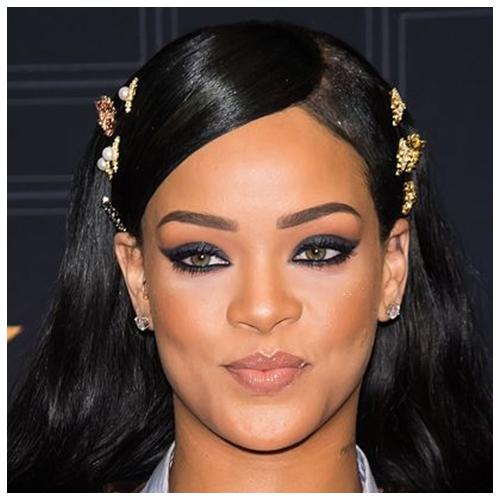 Winged eyeliner tips for upturned eyes
