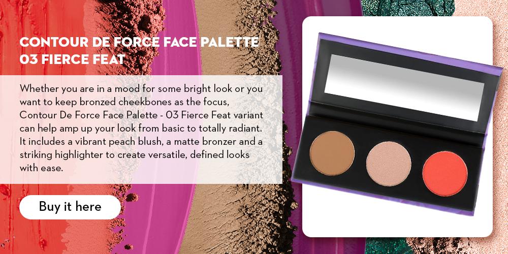 Contour De Force Face Palette 03 Fierce Feat