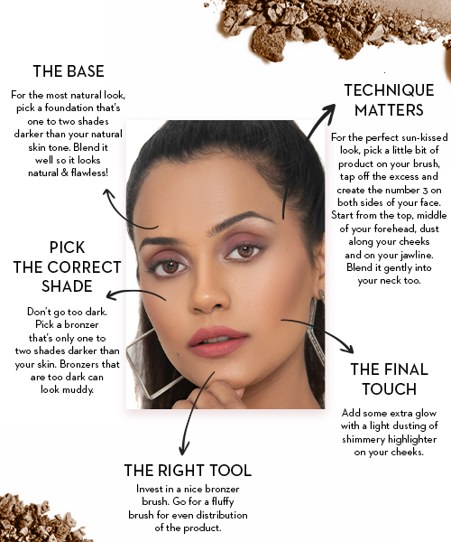 How to use bronzer