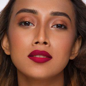 Maroon Red Lipstick