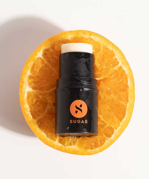 cooling stick infused with orange peel oil for hydration