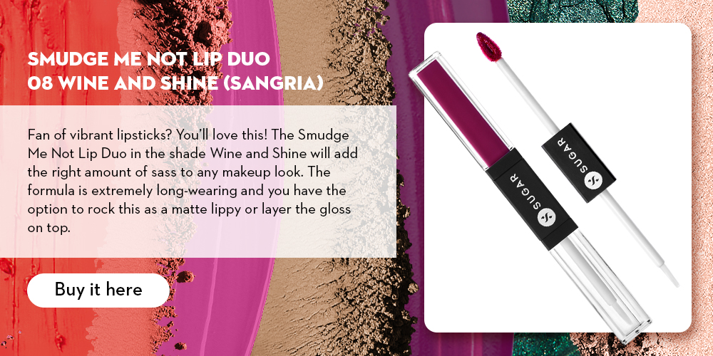 Smudge Me Not Lip Duo 08 Wine and Shine