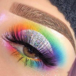 Technicolour eyeshadow