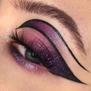 Trending eye makeup