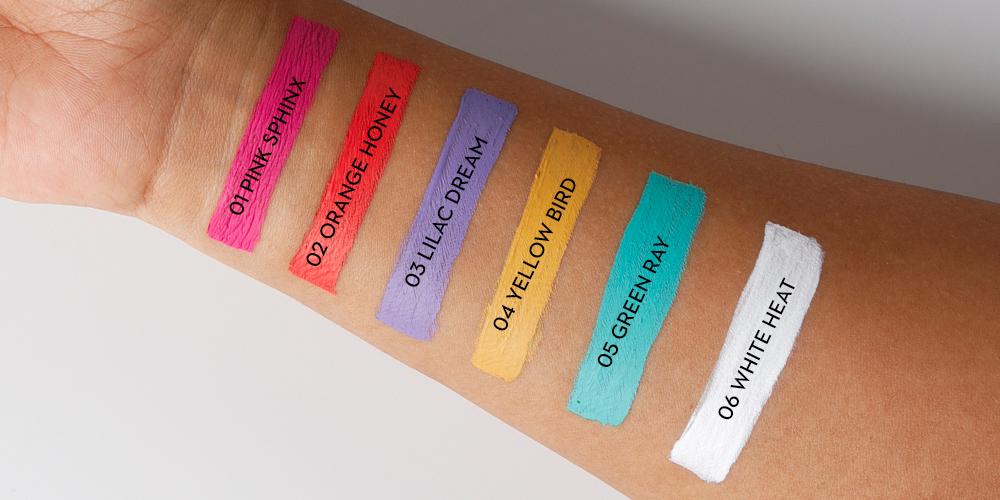 types of liquid eyeliner shades