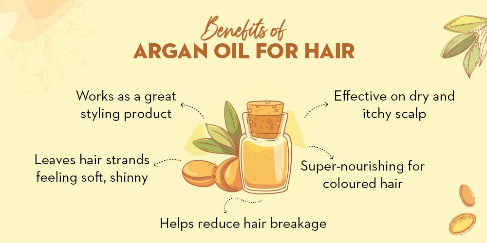 Benefits of Argan Oil for hair 1