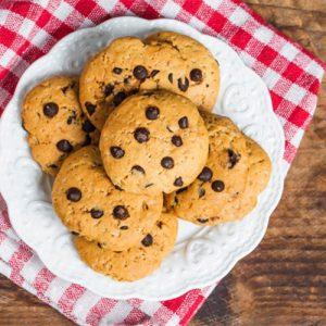 Fresh, baked cookies