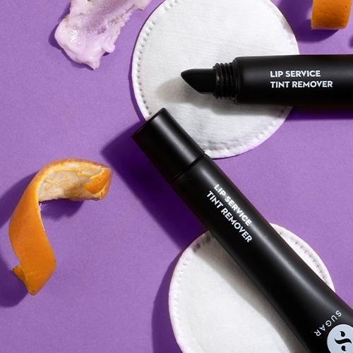 SUGAR lip service tint remover