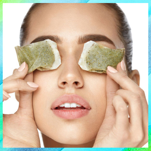 Tea Bags to Relieve Tired Eyes