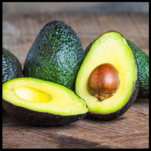 Avocados for glowing skin