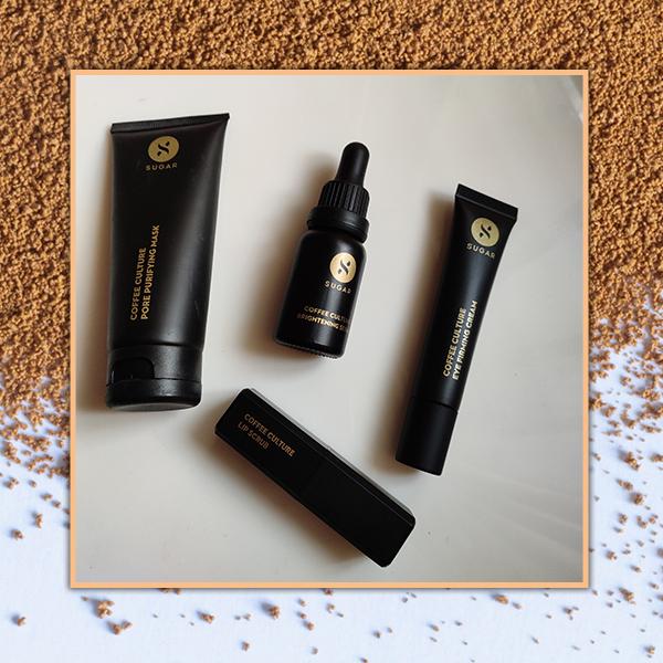 Coffee Skincare Range by SUGAR