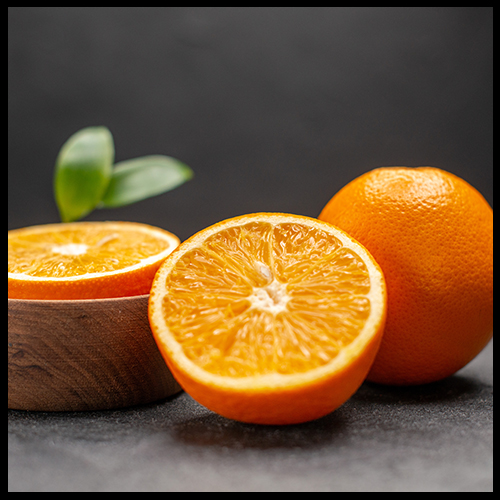 Oranges to add glow to the skin