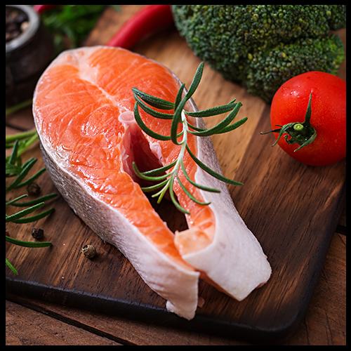 Salmon for healthy skin