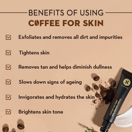 Benefits of using coffee for skin