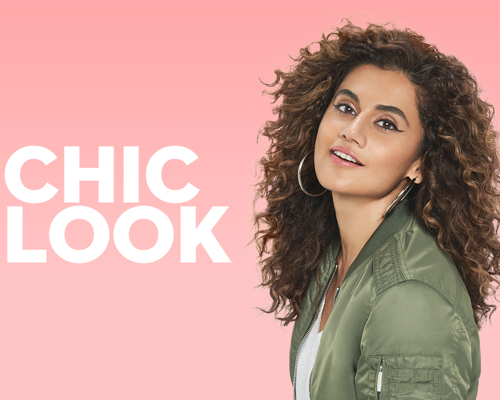 Taapsee Pannu Chic makeup Look with SUGAR